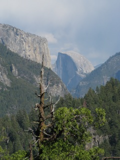 Glacier Point towards the Merced River